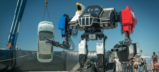Eagle Prime, el robot gigante que MegaBots ha sacado a subasta