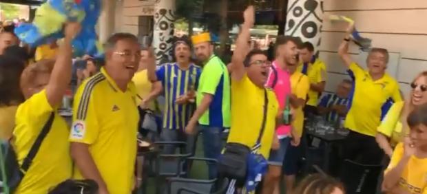 Aficionados del Cádiz
