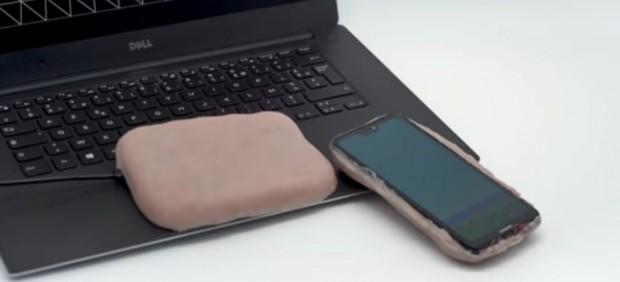 Piel artificial para carcasas móviles