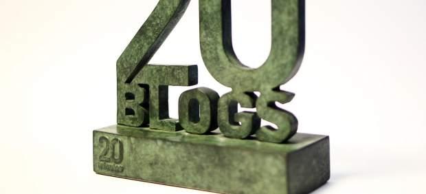 Trofeo de los Premios 20Blogs