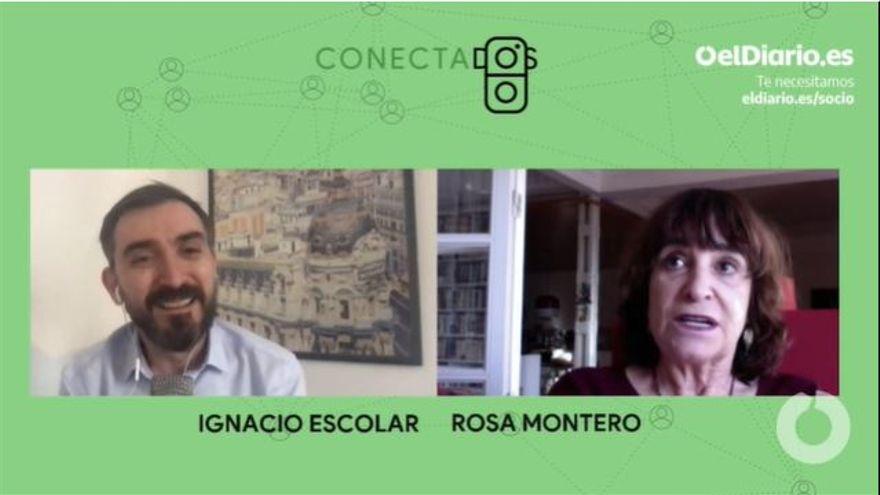 Rosa Montero charla este martes con Ignacio Escolar de casa a casa