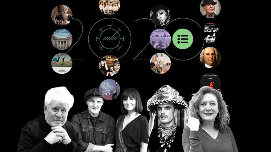 Cantantes, escritoras y actores nos cuentan qué obras culturales les han acompañado en este 2020 pandémico