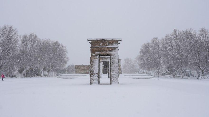La dejadez del patrimonio cultural durante la nevada del siglo: