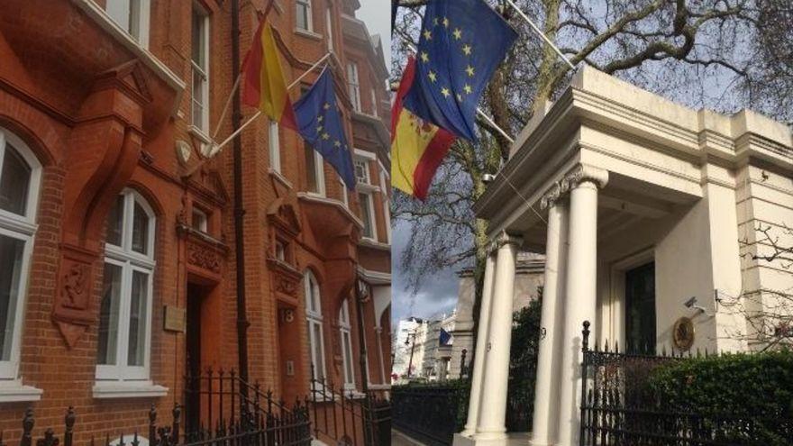 Expulsada del consulado español en Londres porque su hija de dos años utilizó un orinal portátil en la sala de espera