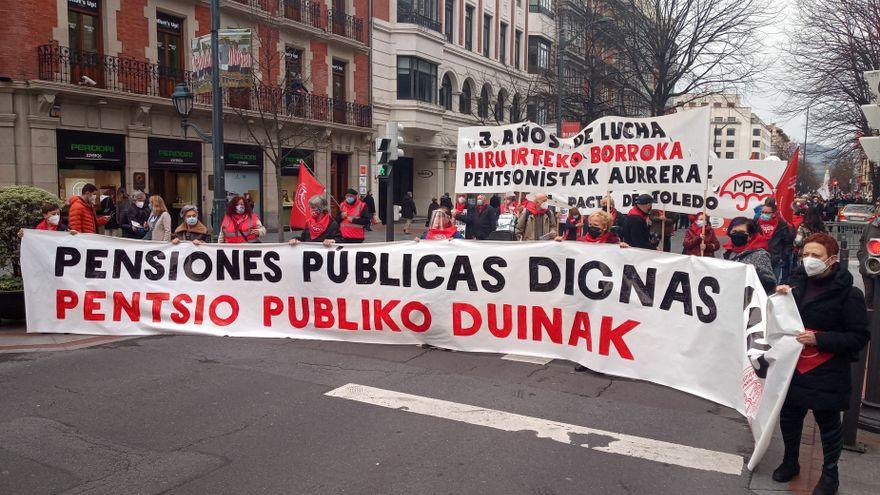 La plataforma de defensa del sistema de pensiones recorrerá las calles de España contra la brecha de género
