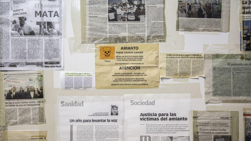 Una empresa es condenada a indemnizar con 371.700 euros a un trabajador por no protegerle del amianto