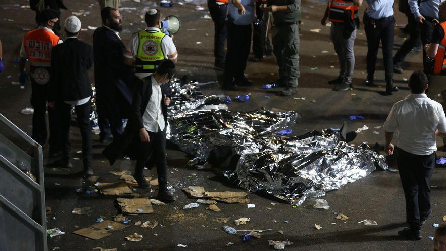 Al menos 38 muertos en una estampida humana durante una festividad religiosa en Israel