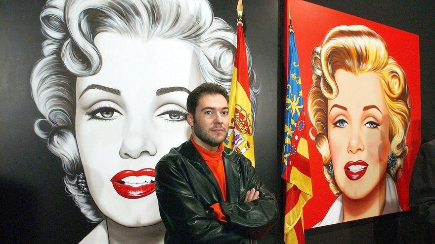 El artista Antonio de Felipe, condenado a reconocer que no es el único autor de sus cuadros