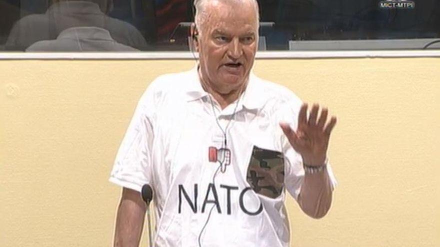 El Tribunal de la Haya ratifica la condena a cadena perpetua por genocidio al excomandante serbobosnio Ratko Mladic