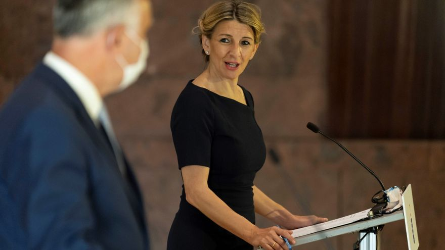 Yolanda Díaz aboga por subir el SMI este 2021 ante el incremento de los precios