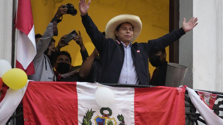 Pedro Castillo, el maestro rural al que nadie vio venir en las elecciones de Perú