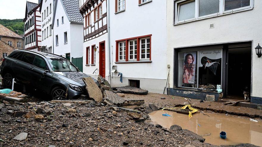 Más de 120 muertos y cientos de desaparecidos en las inundaciones en Alemania y Bélgica