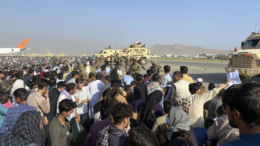 EEUU pide a los países que adelanten el fin de las evacuaciones al viernes y comienza a retirar sus tropas de Kabul