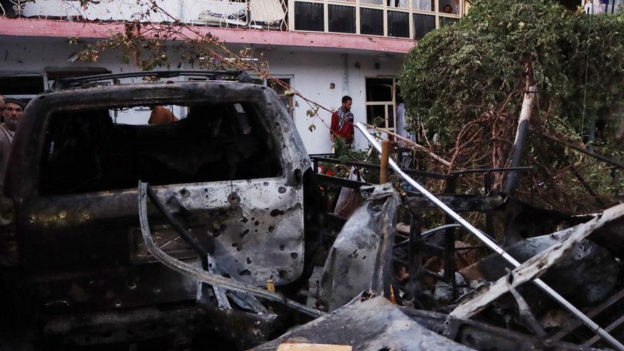 Nuevas explosiones registradas en la ciudad de Kabul en la víspera de la retirada de EEUU