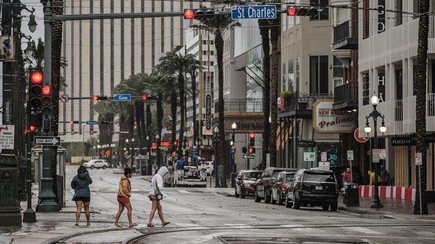 Al menos un fallecido en Luisiana a causa del huracán Ida, que ha dejado a oscuras a todo Nueva Orleans