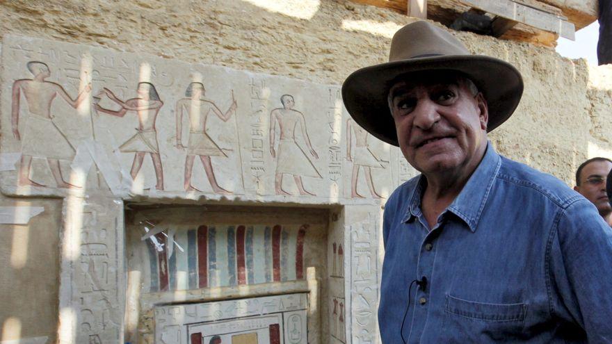 Encuentran en Egipto una gran ciudad perdida bajo la arena de 3.000 años
