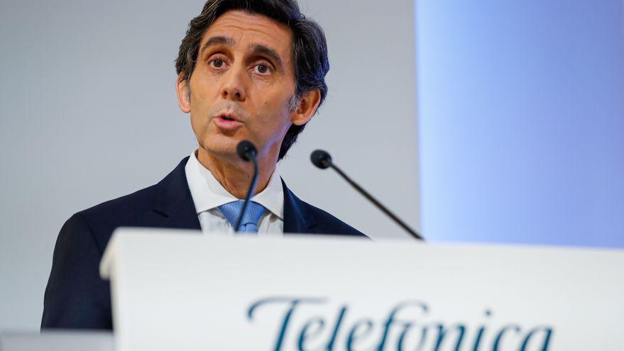 Pallete cumple cinco años al frente de Telefónica marcados por la reducción de deuda y el desplome bursátil