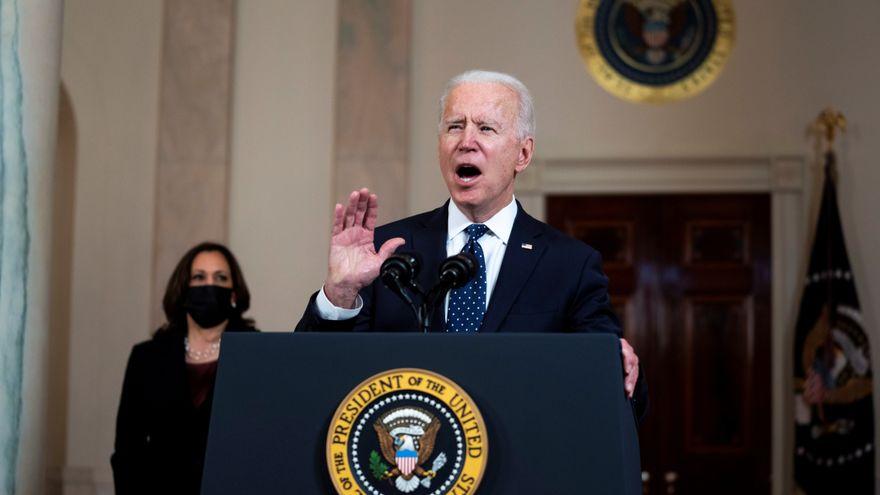 Biden y Harris celebran que se haya hecho