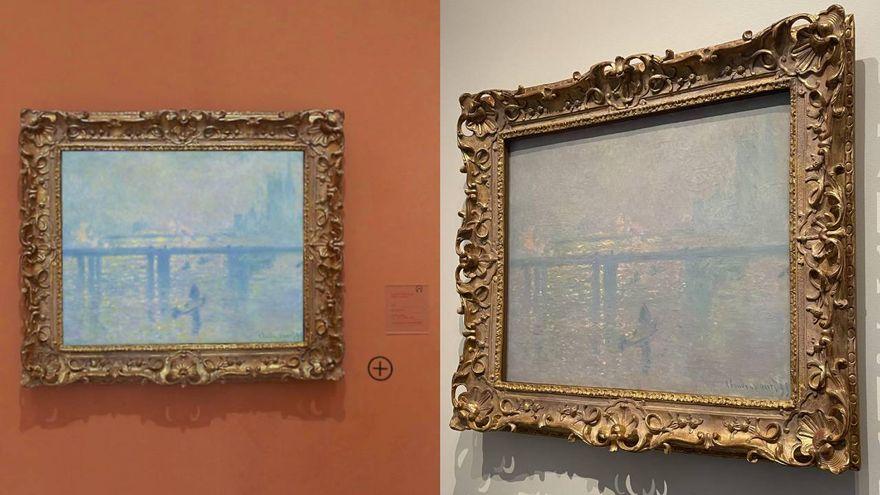 Carmen Cervera vende en Emiratos Árabes 'Charing Cross' de Monet y se expone en el Louvre de Abu Dabi