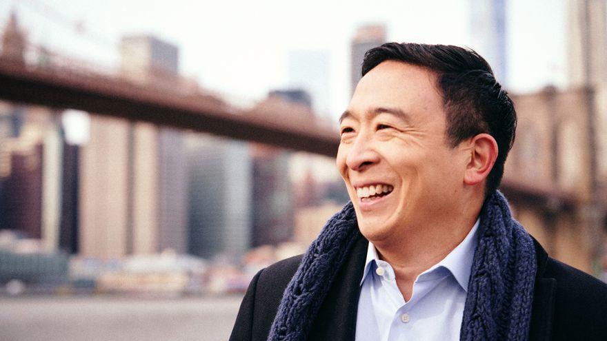 Andrew Yang, el millonario que defiende la renta básica universal y aspira ahora a ser el nuevo alcalde de Nueva York