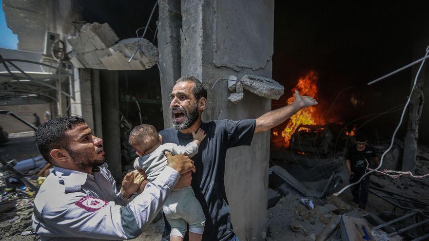 Israel y Hamás anuncian un alto el fuego tras once días de bombardeos sobre Gaza