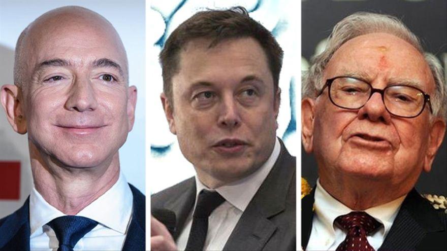 Los archivos secretos del IRS: cómo ricos como Bezos, Musk o Buffett evitan pagar el impuesto sobre la renta