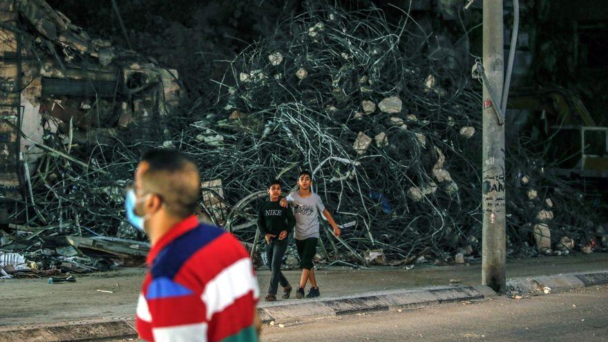 Israel vuelve a atacar en Gaza tras el lanzamiento de nuevos globos incendiarios