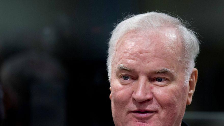 El Tribunal de la Haya decidirá este martes sobre la cadena perpetua al excomandante serbobosnio Ratko Mladic