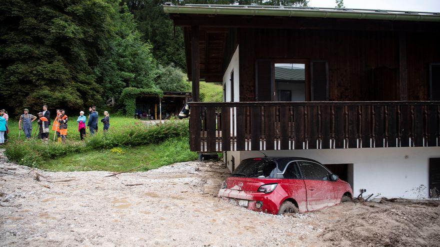 Las inundaciones en Alemania y Bélgica dejan dos centenares de muertos