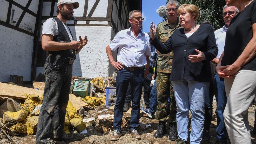 La crisis climática resitúa a los candidatos en las elecciones que pondrán fin a la era Merkel