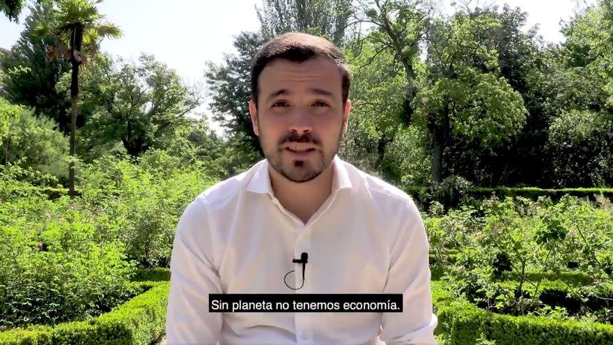 Alberto Garzón pide a los españoles que coman menos carne: